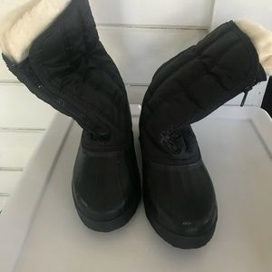 SOREL BLACK WATERPROOF Snow BOOTS